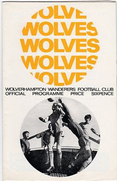 Vintage Football (soccer) Programme - Wolverhampton Wanderers v Leicester City, season Football Design, Football Program, Vintage Football, Football Soccer, Leicester, Wolverhampton Wanderers Fc, Coventry City Fc, Everton Fc, Leeds United