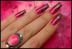 Mai #pink #köröm... Tetszik? / Today's pink #nail... Like it?
