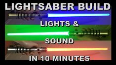 Have you ever wanted to build your own Lightsaber? Check out the other videos on this channel for step by step tutorials. Star Wars Boba Fett, Star Wars Clone Wars, Star Wars Art, Lego Star Wars, Star Trek, Lightsaber Design, Build Your Own Lightsaber, Star Wars Origami, Jedi Costume