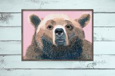 Brown Bear - Red List of Threatened Species // by Marlen Glüher