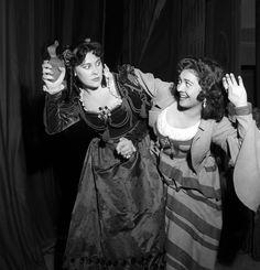 """Eugenia Ratti & Fiorenza Cossotto - """"Il turco in Italia"""" 1957 http://www.archiviolascala.org/"""