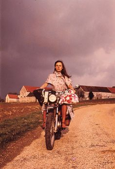 Meet Chloé's freewheeling inspiration, Anne-France Dautheville.