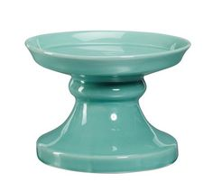 Rhodes Colorful Ceramic Drink Dispenser Stand, Turquoise.  Or in red.  Depends on which table cloth I use!....