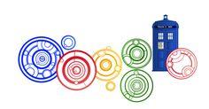 Google in Gallifreyan script