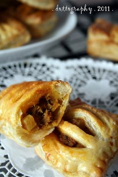 Instant curry puff - you know you're Malaysian if you crave this.