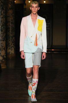 Walter Van Beirendonck | Spring 2014 Menswear Collection | Style.com