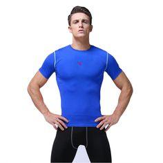ブランドのフィットネスメンズバスケットボールジャージクイックドライ圧縮ジムトレーニングボディービルサッカープロtシャツ男性スポーツウェア