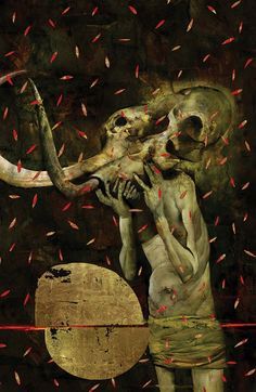 """Dave McKean """"American Gods: Shadows #1 - Variant cover by Dave McKean """""""