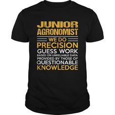 JUNIOR AGRONOMIST T-Shirts, Hoodies. BUY IT NOW ==► https://www.sunfrog.com/LifeStyle/JUNIOR-AGRONOMIST-115803166-Black-Guys.html?id=41382