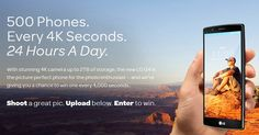 AT&T LG G4 4K Seconds Contest