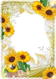 Printable Lined Paper, Free Printable Stationery, Flower Background Wallpaper, Flower Backgrounds, Free Invitation Cards, Wood Invitation, Boarders And Frames, Sunflower Party, Doodle Frames
