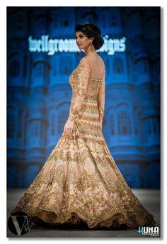 #Fashion #Bride #Groom #Wedding #Ceremony #Indian #FashionWeek #VancouverFashionWeek #ParisFashionWeek #BridalGown #White #Ballgown #Pearls #Beautiful