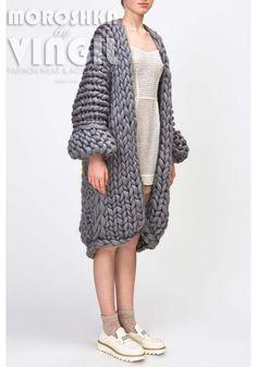 Chunky knit. Grote breit gezellige vest. door MoroshkaByVingil