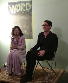 Benjamin Moser and Porochista Khakpour discuss Clarice Lispector at WORD Bookstore in #Greenpoint #Brooklyn