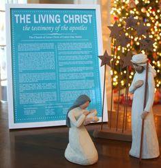 The Living Christ Printable - FREE