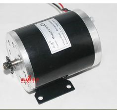 48V 500W MY1020 Permanent Magnet Brush Motor High Speed 25H / T8F Sprocket Electric Vehicle / Scooter / DIY Motor #Affiliate