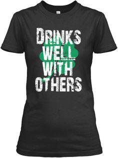 St Patricks Day Shirt Drinks Well Party  st patricks day t shirts. #stpatricksday #paddy #Whiskey #patty #shamrock #party #alcohol #shamrockshirt #irishtshirt #KissMe #ImIrish #drunklivesmatter #IrishPride #american #Carnival #Drink #Gallagher #PattysDay #pub #Patron #irishshirt #irish #StPaddy #LUCKYCHARM #us #imirishtshirt #irishshirts #StPattysDay #stpatricksdayshirts #cloves #Ishamrock #beer #party #parade ==> Shamrocks Tee Store…