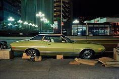 <em>Box Car, Gran Torino Sport, in the Twenties or Thirties on the East Side, 1975.</em>
