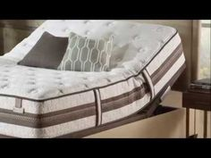 See the benefits of the inner spring hybrid sleep system by Serta iSerires Good Night Sleep, Mattress, Bed, Furniture, Home Decor, Decoration Home, Stream Bed, Room Decor, Mattresses