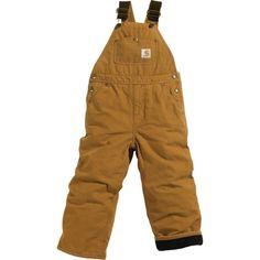 Carhartt Big Kids Quilt Lined Bib Overall Sizes 8-16 CM8620BK