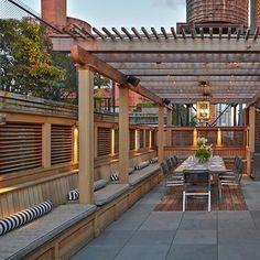 great deck for a fantastic party. #outdoor #newyork #traditional ... - Grillkamin Bauen Diese Tipps Werden Sie Bei Der Planung Unterstutzen