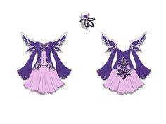 Fallen Angel Dress Design by Eranthe.deviantart.com on @deviantART