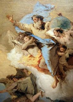 """God"", by Tiepolo. 1760."