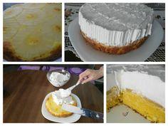 Ananas kolač sa šlagom: Ukusno, brzo i jeftino! Vanilla Cake, Camembert Cheese, Recipies, Desserts, Food, Recipes, Tailgate Desserts, Deserts, Eten
