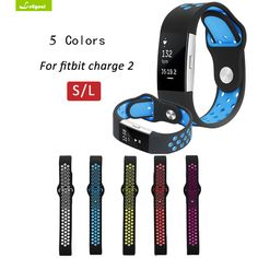 Leegoal for Fitbit Charge 2 Band Sport Silicone Band Strap For Fitbit Charge 2 Bracelet Smart Wristbands Smart Accessories
