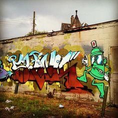 Shank. Detroit. #StreetArt #Graffiti