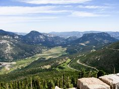 Estes Park, Colorado. On some days you can see forever. How can someone look at this and not believe in God?!?!