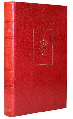 The first 1000 copies of the first edition of The Silmarillion where put aside in 1977 and rebound in red leather in 1982.