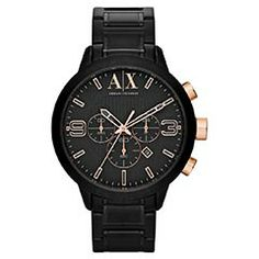 a5c2df6c56b17 RELÓGIO ARMANI AX1350 1PN AX13501PN - 6580 Joias Masculinas, Relógios  Masculinos, Relógios Baratos