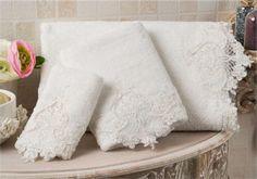 Bathroom Towels - Elegance Salima#towel #bathroom #homedecor #gift #cotton #bamboo  #luxury #home #design #bridal #wedding #white