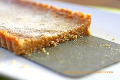 Crack Pie - Christmas baking, the one Anderson Cooper endorsed on Regis and Kelly