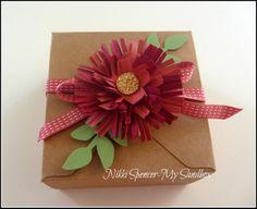 Fringe Scissors Flower...Simple Tutorial.  Nikki Spencer-My Sandbox