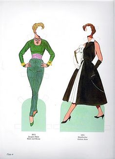 Great Fashion Designs of the Fifties