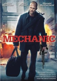 """The Mechanic  Arthur Bishop (Jason Statham) is a """"mechanic"""" — an elite assassin with a strict code and unique talent for cleanly eliminating targets. It's a job that requires professional perfection and total detachment, and Bishop is the best in the business. But when his mentor and close friend Harry (Donald Sutherland) is murdered, Bishop is anything but detached."""