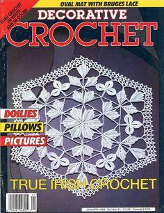 Decorative Crochet Magazines 21 - Gitte Andersen - Álbuns da web do Picasa