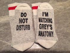 Do Not Disturb ... I'm Watching Grey's Anatomy