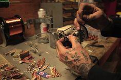 Tim Hendricks Hand Made Tat Tim Hendricks  Hand Made Tattoo Machines.