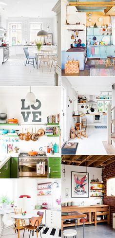 kitchen inspiration, cozy kitchen
