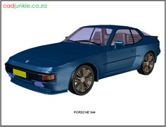 3D Vehicle: Porsche 944 CAD Format: AutoCAD 2013 Block Type: 3D Mesh Units: mm Autocad, 3d Mesh, 3d Cad Models, Porsche 944, Cad Blocks, Muscle Cars, 3 D, Transportation, The Unit