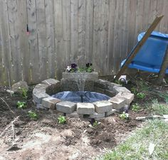 Cheap and easy fountain