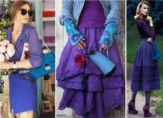 ❤ =^..^= ❤    Сочетание синего и фиолетового цвета