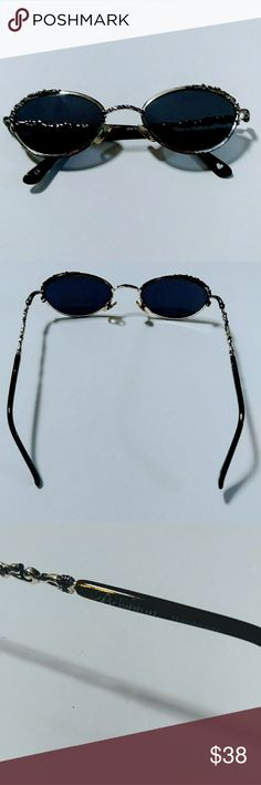 d948f63bc Shop Women's Brighton Silver Tan size OS Sunglasses at a discounted price  at Poshmark. Description: Brighton silver engraved framed sunglasses  pre-owned in ...
