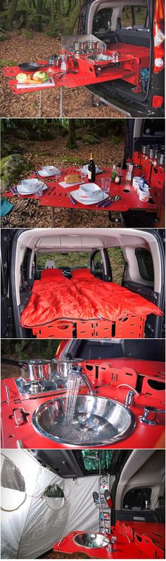 Swiss Room Box Camping. Cuz if someone was going to do it better, it'd be the Swiss...