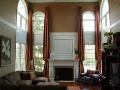 Designer's Best Picks: Before & After: Window Treatments/Fireplace