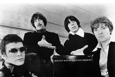 The Velvet Underground in a promotional photo for their LP White Light / White Heat.