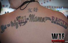 raisehell Regrets, Tattoo Quotes, Singing, Songs, Tattoos, Amazing, People, Tatuajes, Tattoo